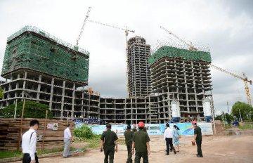 商品房銷售繼續回暖 房地產新開工和土地購置面積現築底跡象