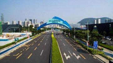 深圳前海首塊港企競得地塊開工建設