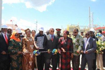 中國公司承建坦桑尼亞天然氣項目竣工