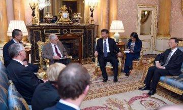 习近平会见英国工党领袖科尔宾:十三五规划提供机遇