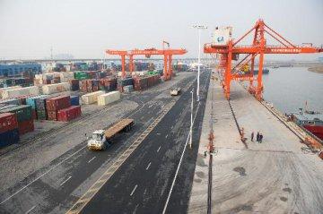 前9月合肥港外貿集裝箱運量同比增八成