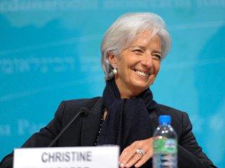拉加德支持将人民币纳入特别提款权货币篮子