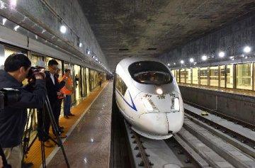 香港各界希望廣深港高鐵香港段儘快通車