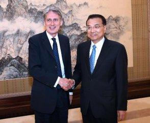 李克強:願同英方加強金融核電等領域合作