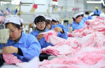 紡織十三五規劃成型 望保持高速增長