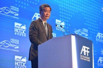 梁振英:人民币将在国际市场扮演更重要的角色