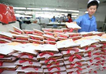 中国纺织业产量占世界一半