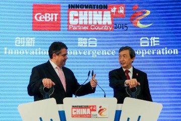 """漢諾威IT展上的""""中國製造"""""""