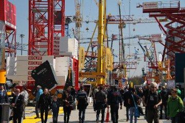 中國企業高調亮相慕尼克國際工程機械博覽會