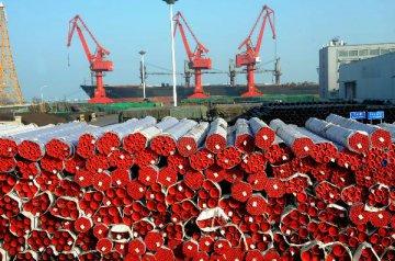 海關總署:一季度進出口總值同比下降5.9%