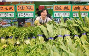 統計局:鮮菜價格下降較多致CPI環比下降0.2%