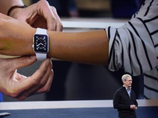 Apple Watch一季度出货150万块 落后于小米