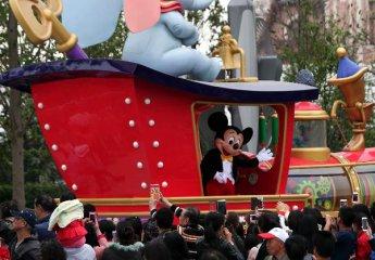 上海迪士尼 中国国企造