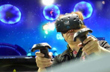 VR成E3游戏展重头戏 虚拟现实迎来爆发年
