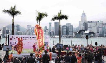 香港金管局總裁陳德霖:香港尚未發生資金流走的情況