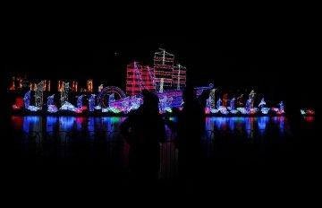 中国彩灯闪耀伦敦