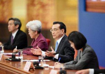 """李克強:中國經濟""""硬著陸""""論可以休矣"""