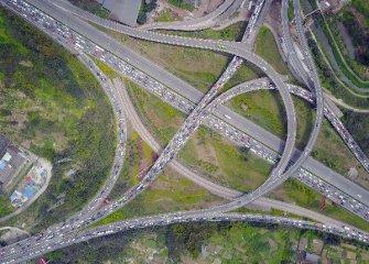 """四川""""十三五""""期間規劃完成交通領域投資10300億元"""