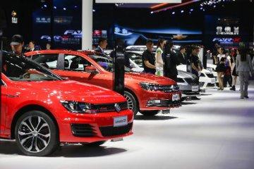 2017上海國際車展開幕展示全球首發車過百輛
