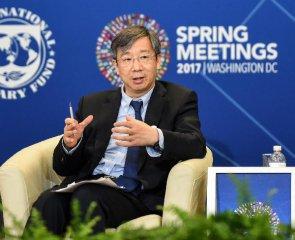 易纲:中国央行愿在扩大SDR使用方面发挥作用