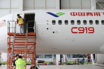 国产大飞机C919今首飞 航空发动机专项顺利推进