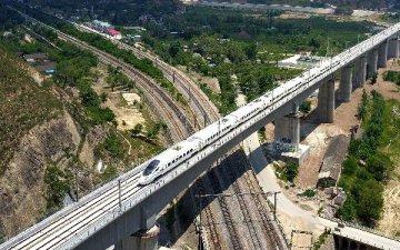 一带一路交通枢纽蓝图浮现 中部将建米字形高铁网