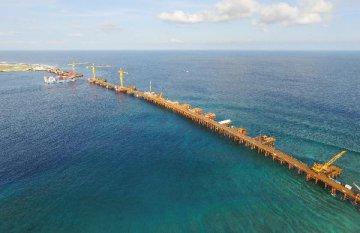 """中国政府首次提出""""一带一路""""海上合作设想 建3条蓝色通道"""