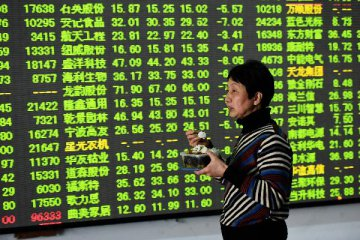 上證50指數跌逾1% 中國太保跌近3%