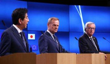 歐盟和日本就經濟夥伴協定達成原則性協議