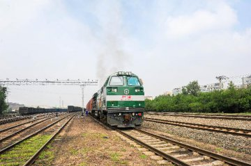 黑龍江哈歐班列運量持續增長