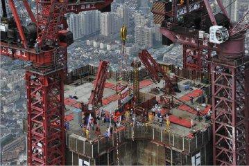 """上海建工深耕""""一帶一路"""" 五洲四海繪就世界地標"""