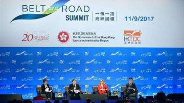 """""""一帶一路""""給香港融資市場提供新空間"""