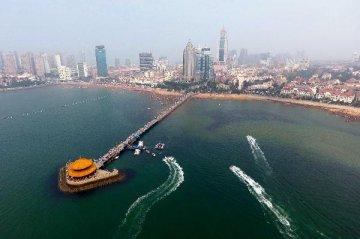 """青岛发布海铁联运发展蓝皮书 建设我国北方""""一带一路""""主枢纽"""