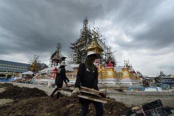 """泰国副总理颂吉:泰国的发展要与""""一带一路""""对接"""