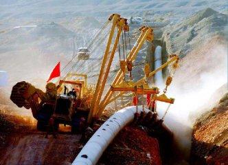 土库曼斯坦-中国天然气管道在塔境内部分开始铺设
