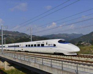 我国高铁总里程占世界总量66.3%