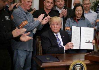 特朗普開徵鋼鋁關稅 歐盟日韓尋求豁免 歐盟:不豁免就反制
