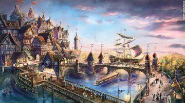 亞洲主題樂園競爭加劇 一站式度假村模式待考