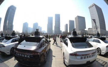 北京市为百度颁发首批自动驾驶路测牌照