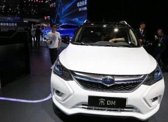 新能源汽車一季度銷量迎開門紅 同比增長1.5倍