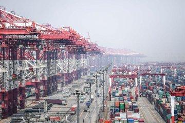 """五年來我國與""""一帶一路""""沿線國家進出口總值年均增長4%"""
