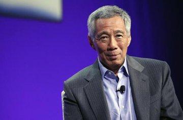 """新加坡總理李顯龍:支持""""一帶一路""""沿線國家融資需求新加坡可發揮更大作用"""