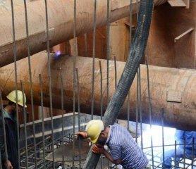 中老鐵路跨湄公河特大橋主橋基礎施工全面完成