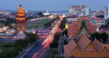 """一帶一路""""建設助柬埔寨打造立體交通網"""