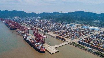 """中国宁波舟山港加速迈向世界级强港 """"一带一路""""倡议""""激活""""沿线港口贸易"""