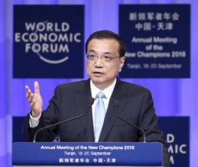 李克强:中国经济继续保持稳中向好发展态势