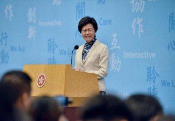 林鄭月娥:香港今年經濟增長仍可達3%至4%