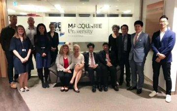 澳大利亚麦考瑞大学举办鸡尾酒会答谢华商为MBA学生捐赠奖学金 