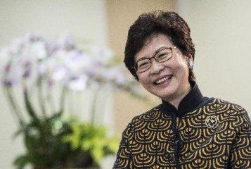林鄭月娥:香港將推出新舉措鞏固國際金融中心地位