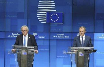 """欧盟英国没谈拢 """"脱欧""""协议继续拖"""